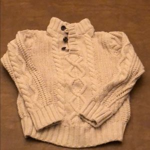 GAP Shirts & Tops - BabyGap cable-knit Henley sweater size 5T